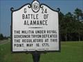 Image for Battle of Alamance, Marker G-24
