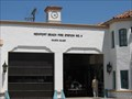 Image for Newport Beach  Fire Department Clock Tower - Balboa Island, CA