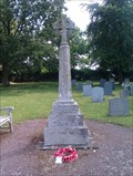Image for Combined WWI/WWII stone cross, St Leonard - Catworth, Cambridgeshire