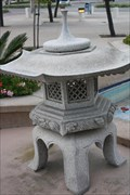 Image for Japanese Stone Lantern - Huntington Beach, CA, USA