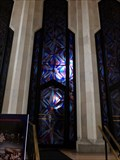 Image for Art Deco Window - Boston Avenue Methodist Church - Tulsa, Oklahoma, USA