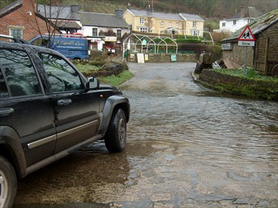 Ford to Gower Heritage Centre, Swansea Wales