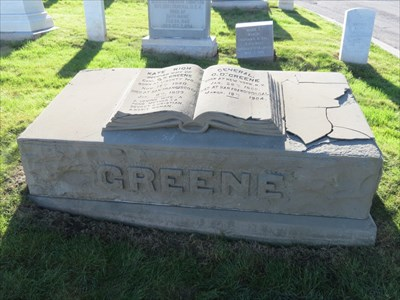 Oliver D Greene, Medal of Honor, Front, San Francisco National Cemetery
