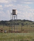 Image for 19th Century UPRR Water Tank -- Buford WY