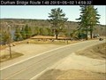 Image for Route 148 Highway Webcam - Durham Bridge, NB