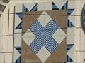 Image for Tulip Variation barn quilt - Bristol, TN