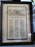 Image for First World War Parchment Honour Roll - St. Paul's Church - Ramsey, Isle of Man