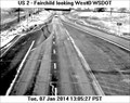 Image for Hwy 2 at Mitchell Street Webcam - Spokane, WA