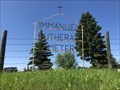Image for Immanuel Luthern Cemetery, Tomahawk, Alberta, Canada