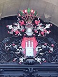Image for Hamburg-Wappen am Rathaus-Windfang - Hamburg, Germany