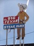 Image for The Big Texan Steak Ranch - Fire - Amarillo, Texas, USA.