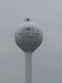 WSU Water Tower, Close-up, Dayton, Ohio