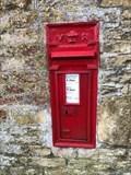 Image for Victorian Wall Post Box - Upper Swell, near Cheltenham, Gloucestershire, UK
