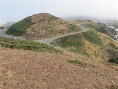 East Peak of Twin Peaks, San Francisco, CA