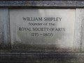 Image for William Shipley - All Saints Churchyard, Mill Street, Maidstone, UK