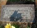 Image for 109 - Alabama Watson - Luther, OK