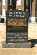 Image for Dyer County Walk of Fame - Dyersburg, TN