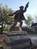 Image for Hico, Texas: Statue of Billy the Kid, Maybe
