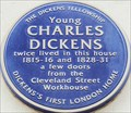 Image for FIRST - London Home of Charles Dickens - Cleveland Street, London, UK