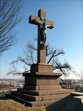 Image for Old Priests Lot Cross - Calvary Cemetery - St. Louis, Missouri