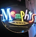 Image for Memphis Music - Artistic Neon - Memphis, Tennessee, USA.