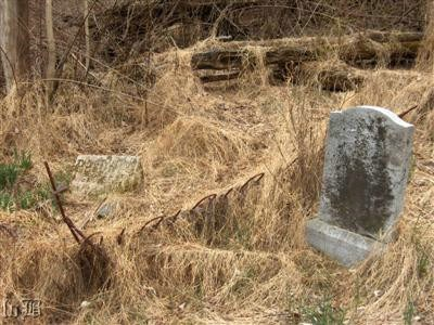One of the 100+ old mountaineer cemeteries that exist in the Park, most forgotten and overgrown.