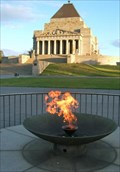 Image for Eternal Flame, Shrine of Remembrance, Melbourne, Australia