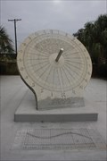 Image for 1971 S/S Texaco-Oklahoma Memorial Sundial -- Port Arthur TX