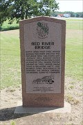 Image for The Red River Bridge -- Colbert OK