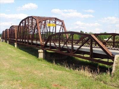 veritas vita visited Lake Overholser Truss Bridge