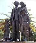 Image for Immigrant Statue - Ybor City, Tampa, Florida, USA.