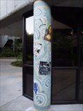 Image for Honors Hall Mosaic Column #2 - Jacksonville, FL