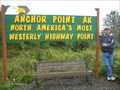 Image for MOST WESTERLY Highway Point in North America - Anchor Point, AK, USA