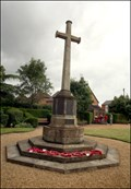 Image for First World War Memorial, Stratford upon Avon, UK