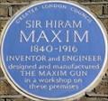 Image for Hiram Maxim - Hatton Garden, London, UK