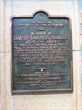 Image for David Barnes, Pioneer, Loveland Museum - Loveland, CO