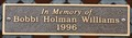 Image for Bobbi Holman Williams ~ Paducah, Kentucky