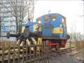 Image for Deutz diesel locomotive No. 55204, J.-F.-Kennedy-Promenade, Offenbach, DE