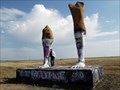 Image for Amarillo, Texas: Huge Pair of Legs