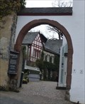 Image for ONLY Daun court gate with an arch under a slate roof - Daun, RP, Germany