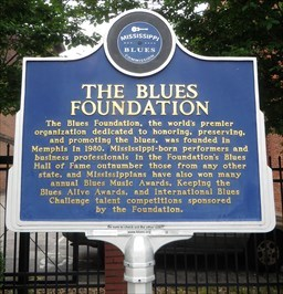- The Blues Foundation - Historic Marker -