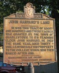 Image for John Harvard's Land