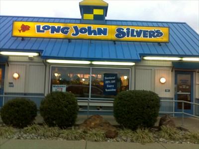 Long john silver 39 s west side evansville in fish and for Long john silver fish and chips