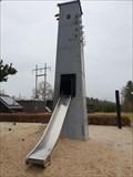 Image for Transformatortårn på legeplads - Transformer sub-station tower at playground , Energimuseet Tange - Denmark