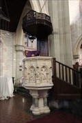 Image for Stone Pulpit - Most Holy Trinity Cathedral, Hamilton BM