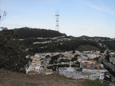 Sutro Tower and Twin Peaks, San Francisco