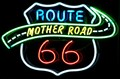 Image for Mother Road Route 66 - Artistic Neon - Route 66, Tucumcari, New Mexico, USA