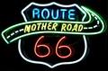 Image for Mother Road Route 66 - Artistic Neon - Route 66, Tucumcari, New Mexico, USA