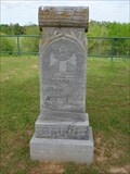 Image for John Thomas Baugh - Tuggle Springs Cemetery - Red River County, TX