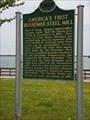 Image for America's First Bessemer Steel Mill - Wyandotte, MI